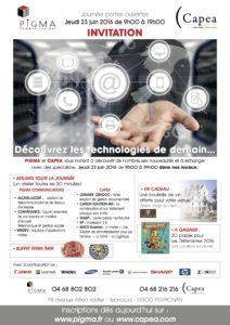 Pigma communications agence de communication à Perpignan portes ouvertes